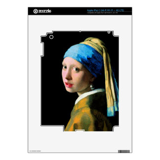 Vermeer - Girl with a Pearl Earring Decal For iPad 3