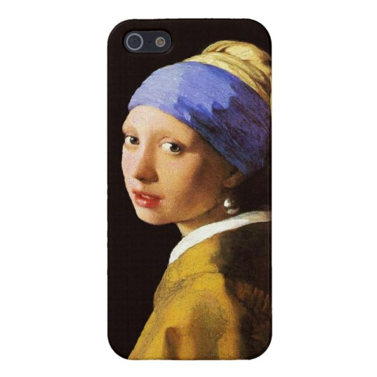 Vermeer Girl with a Pearl Earring iPhone SE/5/5s Case