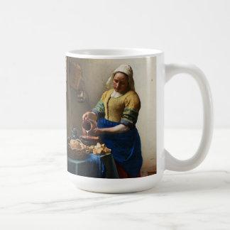 Vermeer la taza de la lechera