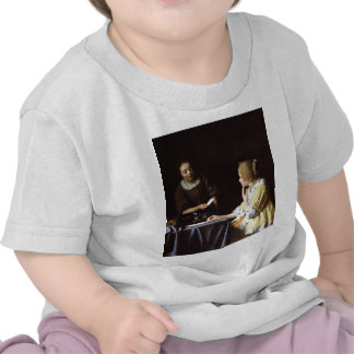 Vermeer - Mistress and Maid 1666-67 T Shirts
