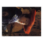 Vermeer Painting - Girl with a Red Hat Posters