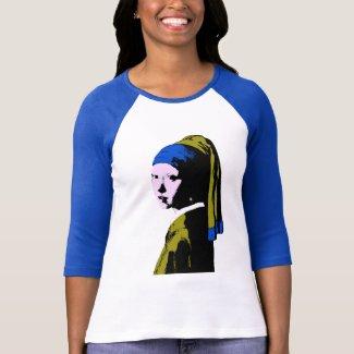 Vermeer' Pearl Earring  ala Tank Top