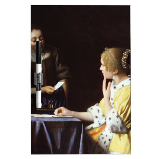 Vermeer - señora y criada 1666-67 pizarras blancas