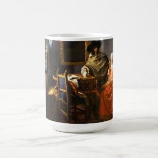 Vermeer The Glass of Wine Mug