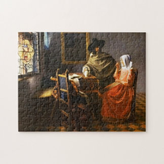 Vermeer The Glass of Wine Puzzle