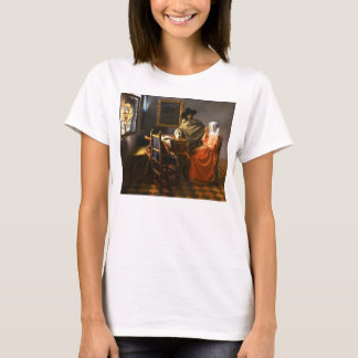 Vermeer The Glass of Wine T-Shirt