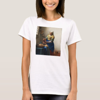 Vermeer The Milkmaid T-shirt
