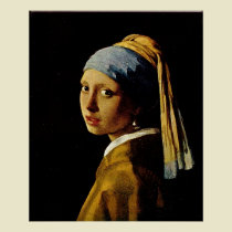 Johannes Vermeer Girl with a Turban (Girl with a Pearl Earring)