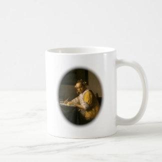 Vermeer's Letter Writer Coffee Mug