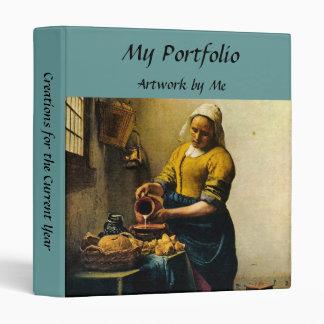 Vermeer's Maidservant Pouring Milk (circa 1660) Binders