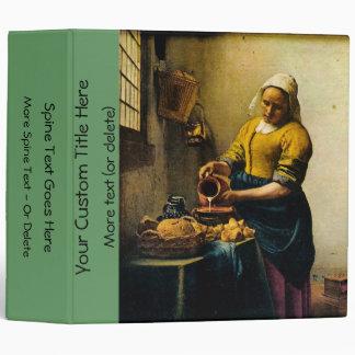 Vermeer's Maidservant Pouring Milk (circa 1660) Binder