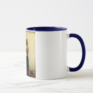 Vermeer's Maidservant Pouring Milk (circa 1660) Mug