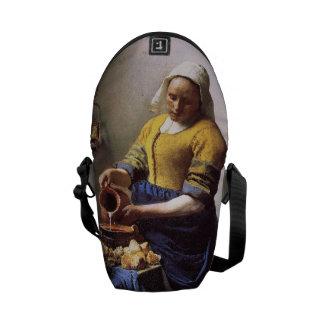 Vermeer's Milkmaid Courier Bag