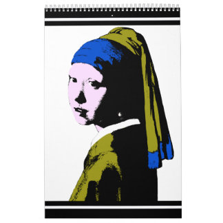 Vermeer's Pearl Earring  ala Calendar