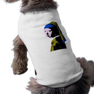 Vermeer's Pearl Earring  ala Shirt