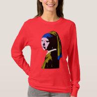 Vermeer's Pearl Earring  ala T-Shirt