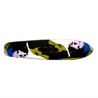Vermeer's Pearl Earring  ala Warhol Skate Decks