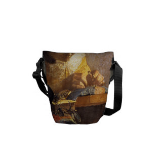 Vermeer's The Lacemaker Courier Bag