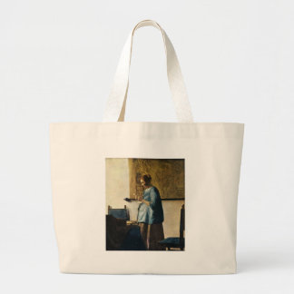 Vermeer's Woman in Blue Reading a Letter ca.1665 Bag