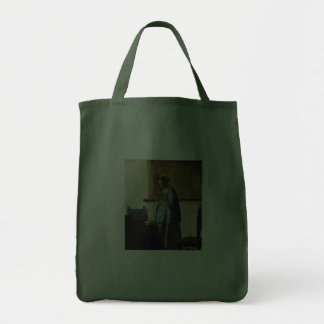 Vermeer's Woman in Blue Reading a Letter ca.1665 Tote Bags