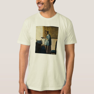 Vermeer's Woman in Blue Reading a Letter ca.1665 T-Shirt