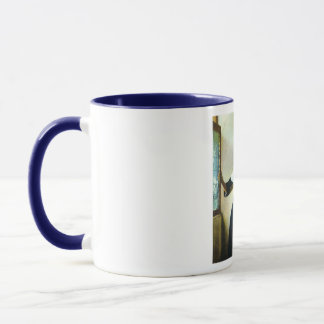 Vermeer's Young Woman with a Water Pitcher ca 1665 Mug