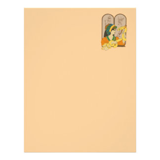 Vermicelli and Papyrus Letterhead