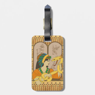 Vermicelli and Papyrus Bag Tags