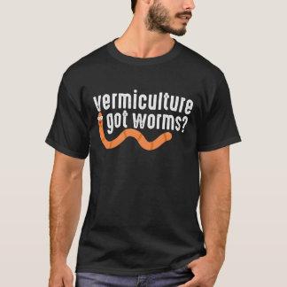 Vermiculture Compost Worm Farming Gardening T-Shirt
