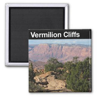 Vermilion Cliffs National Monument 2 Inch Square Magnet