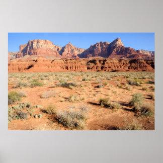 Vermilion Cliffs National Monument Print