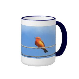 Vermilion Flycatcher Coffee Mug