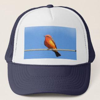 Vermilion Flycatcher Trucker Hat