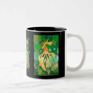 Vermilion Goldfish Two-Tone Coffee Mug