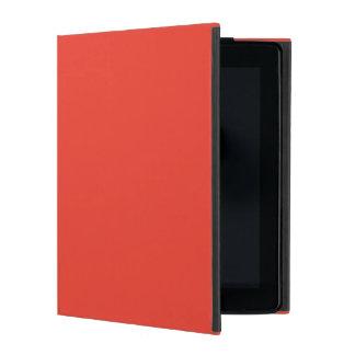 Vermilion iPad Folio Case
