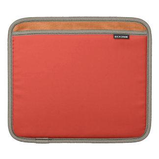 Vermilion iPad Sleeves