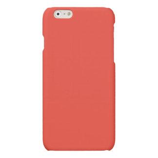 Vermilion Matte iPhone 6 Case