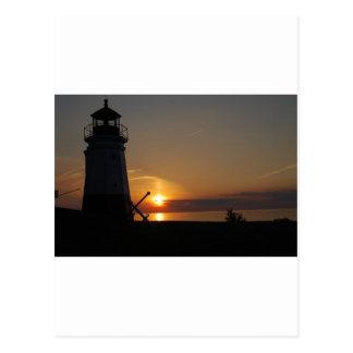 Vermilion Light House Postcard