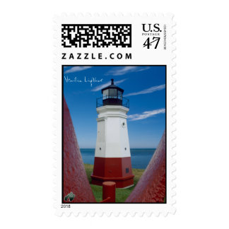 Vermilion Lighthouse Postage