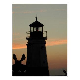 Vermilion Lighthouse Postcard