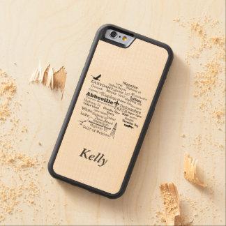Vermilion Parish Woodgrain Styled Phone Case