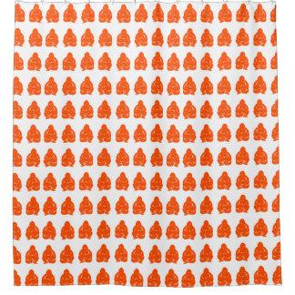 Vermillion Asian Moods Buddah Boys Shower Curtain