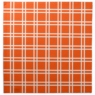 Vermillion Elegant Lattice @ Emporiomoffa Cloth Napkin