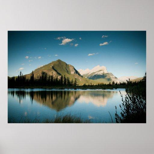 Vermillion Lakes Print