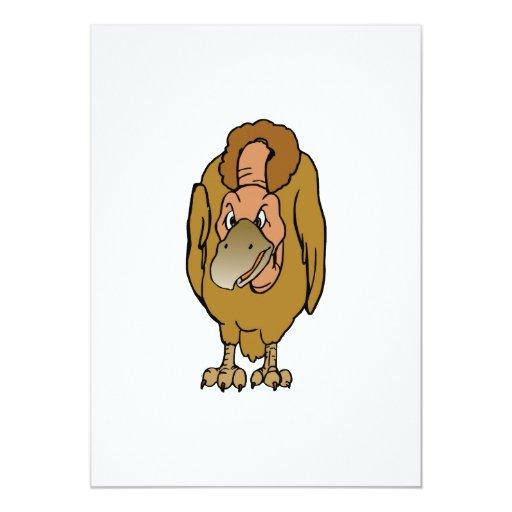 Vermina Vulture Personalized Invitations