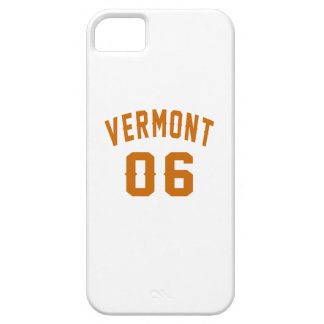 Vermont 06 Birthday Designs iPhone SE/5/5s Case