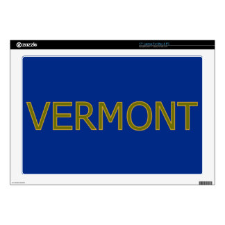 """Vermont 17"""" Laptop For Mac & PC Skin Skins For 17"""" Laptops"""