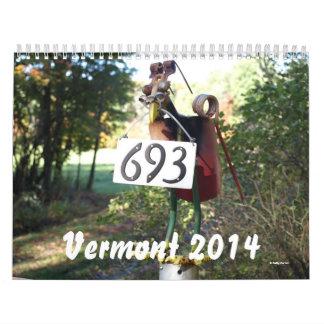 Vermont 2014 Calendar