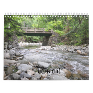 Vermont - 2019 Calendar