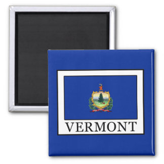 Vermont 2 Inch Square Magnet